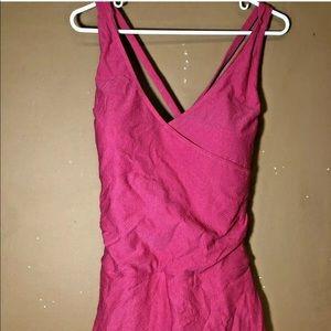 Tropical Escape 1 Piece Swimsuit Size 20 NWT